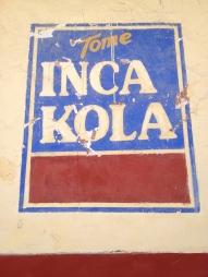 Inca Kola advertisement