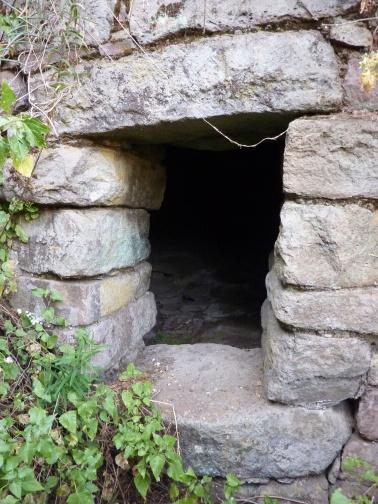 pre-Inca doorway