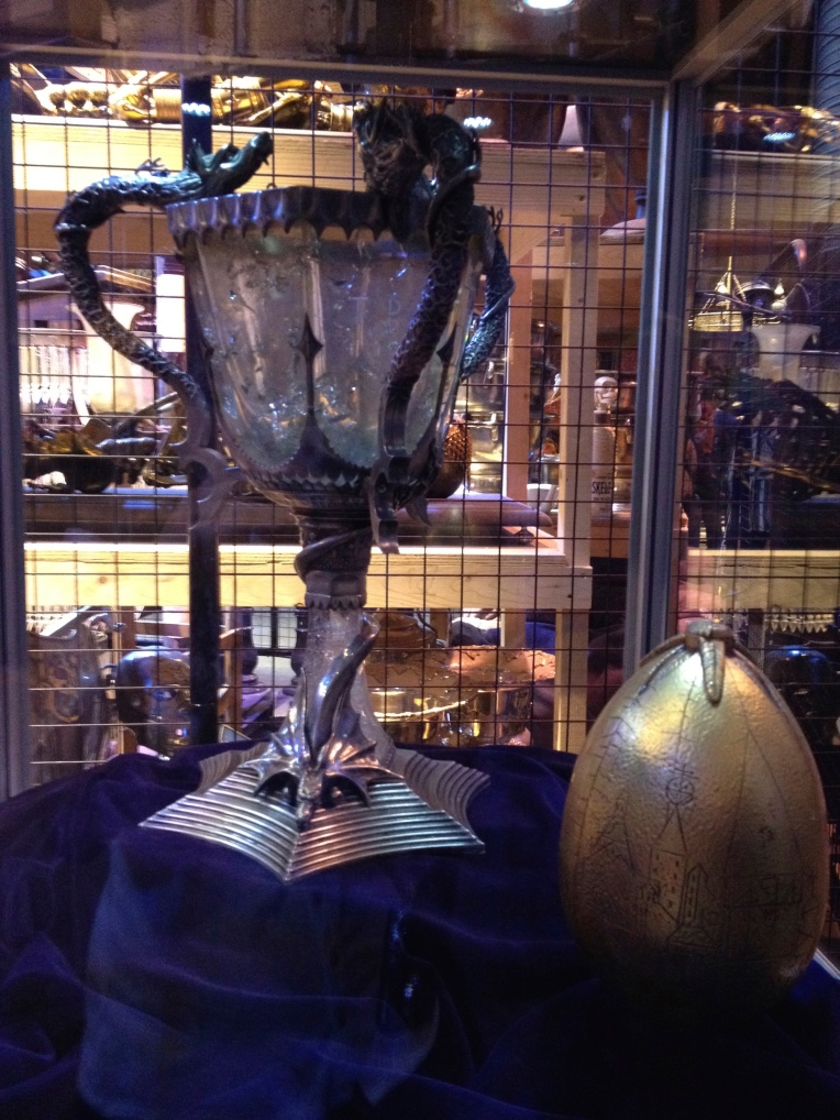 Triwizard cup and the egg clue
