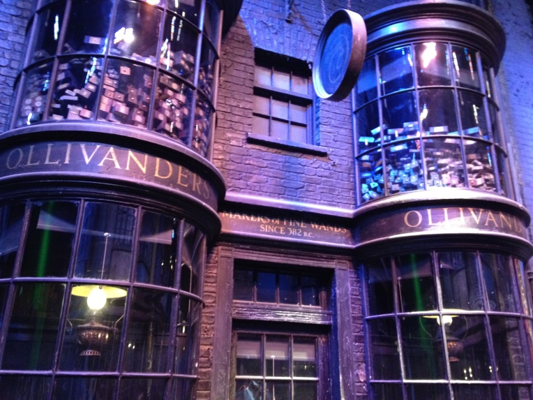 olivanders on diagon alley
