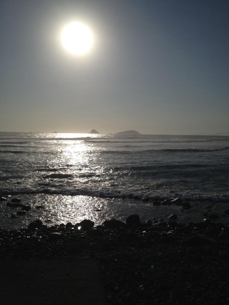sunset Punta