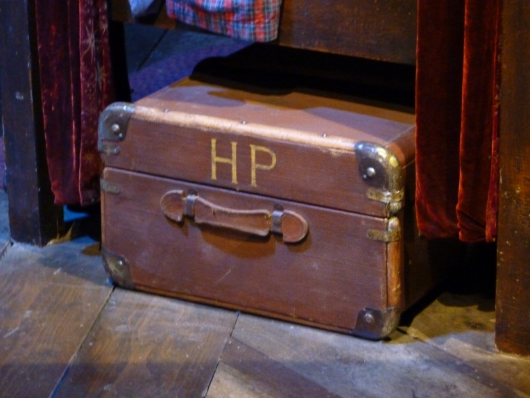 HP's luggage