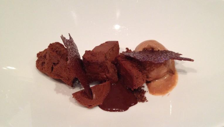 flourless chocolate dessert - Malabar // asliceofperu