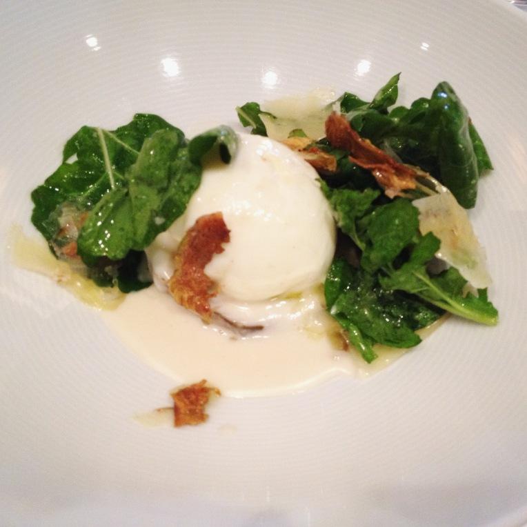 artichoke and poached egg - Malabar // asliceofperu
