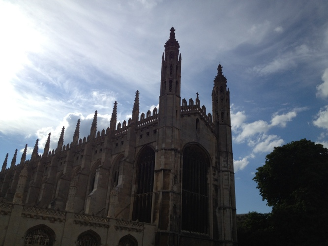Kings College chapel, Cambridge // A Slice of Peru