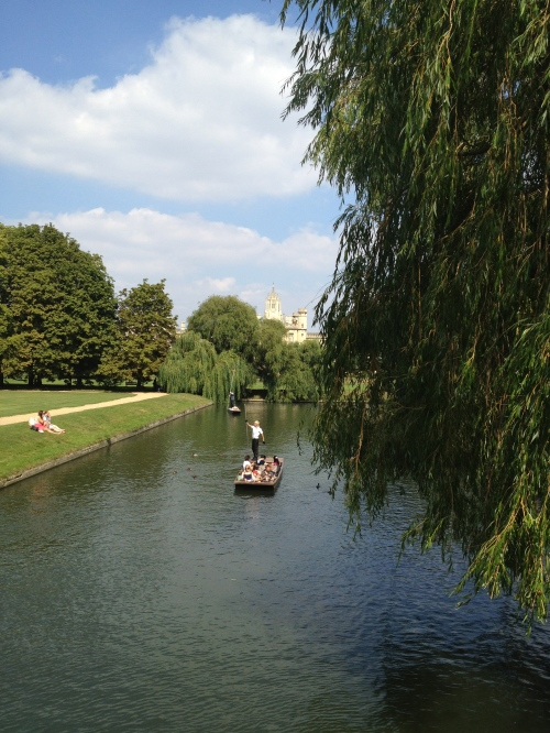 Punting, Cambridge // A Slice of Peru
