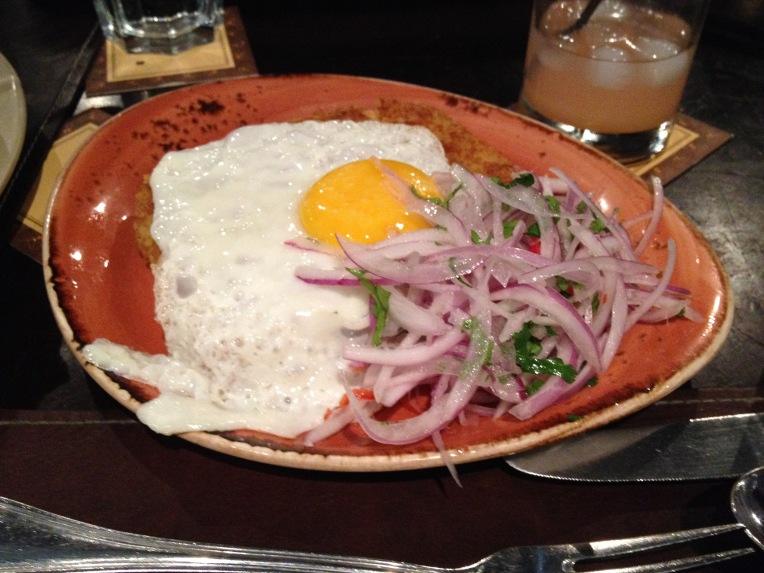 Tacu tacu w/ fried egg - Panchita // A Slice of Peru