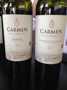Carmen Merlot & Cabernet Sauvignon - ExpoVino // A Slice of Peru
