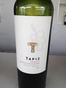 Tapiz Cabernet Sauvignon - ExpoVino // A Slice of Peru