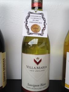 Villa Maria Sauvignon Blanc - ExpoVino // A Slice of Peru