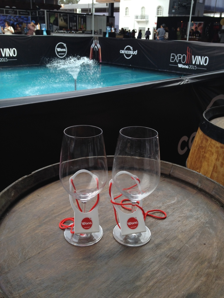 Wine Glasses - ExpoVino // A Slice of Peru