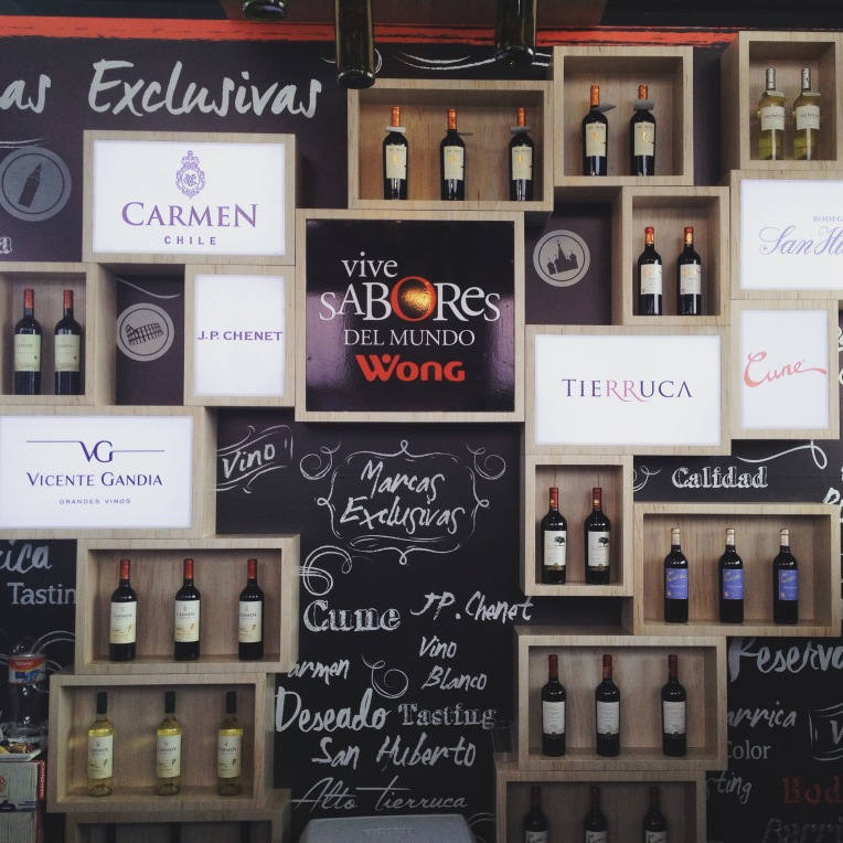 Wong Display - ExpoVino // A Slice of Peru