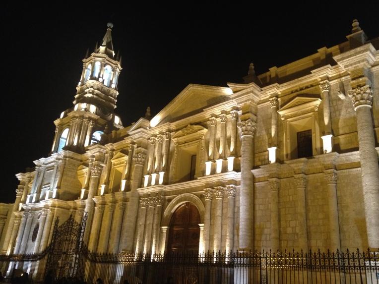 Basílica Catedral de Arequipa // A Slice of Peru