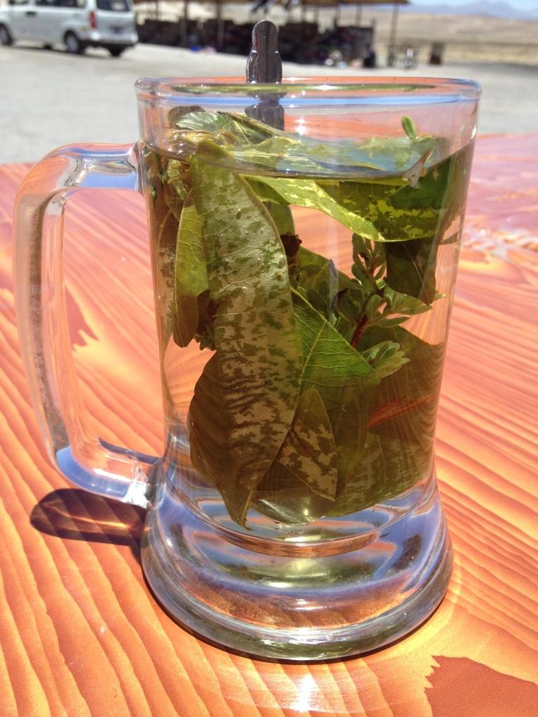 Andean herbal tea // A Slice of Peru