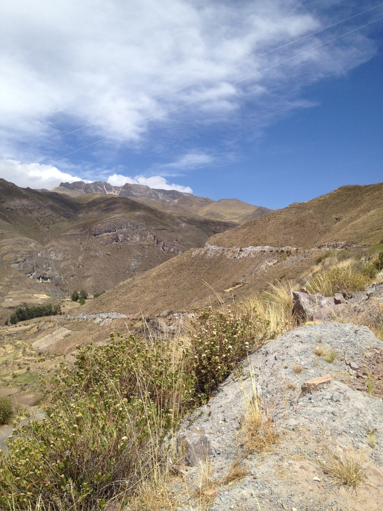 mountain road in the Colca Valley // A Slice of Peru