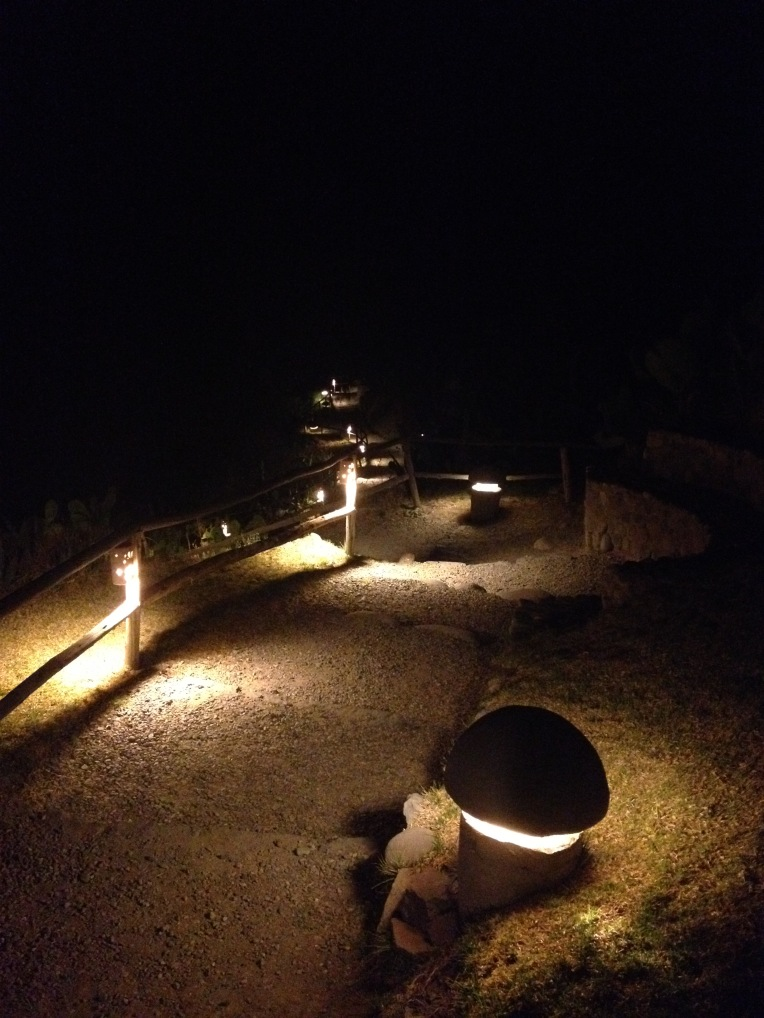 pathway to the hot springs - Colca Lodge // A Slice of Peru