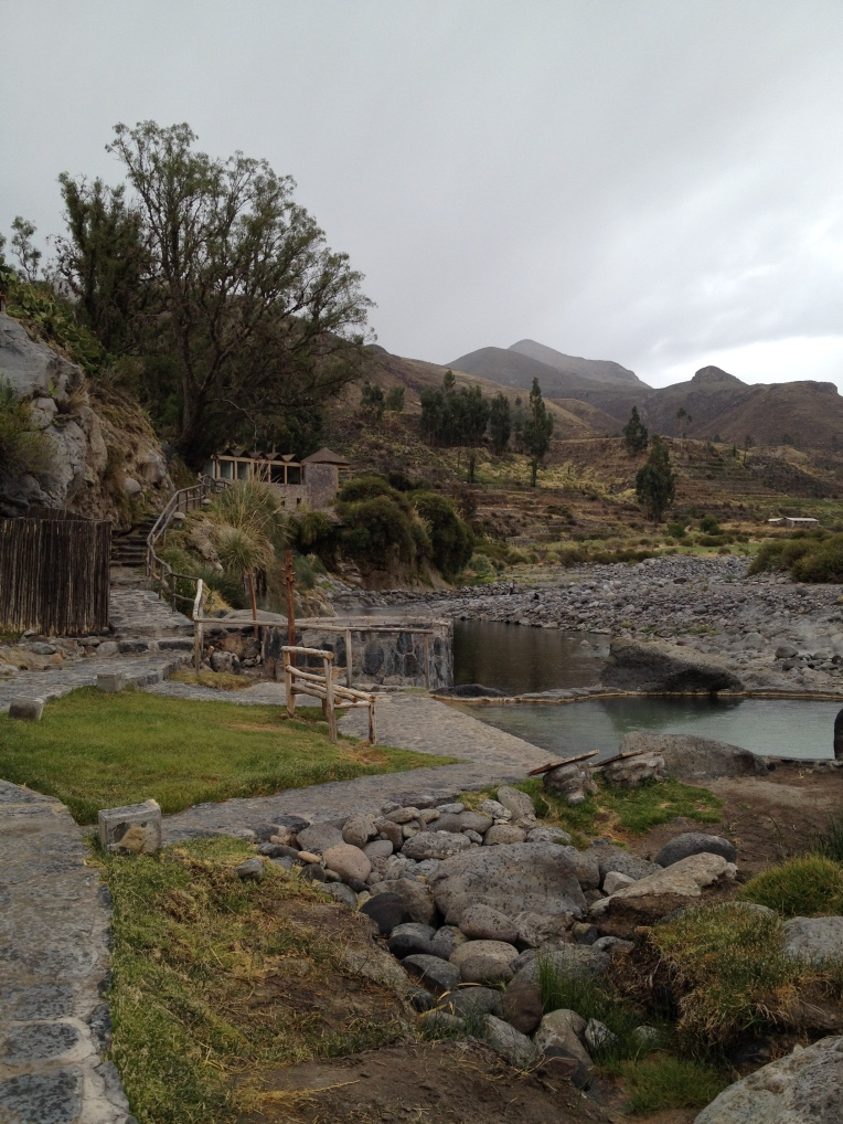lodge and springs in the rain // A Slice of Peru