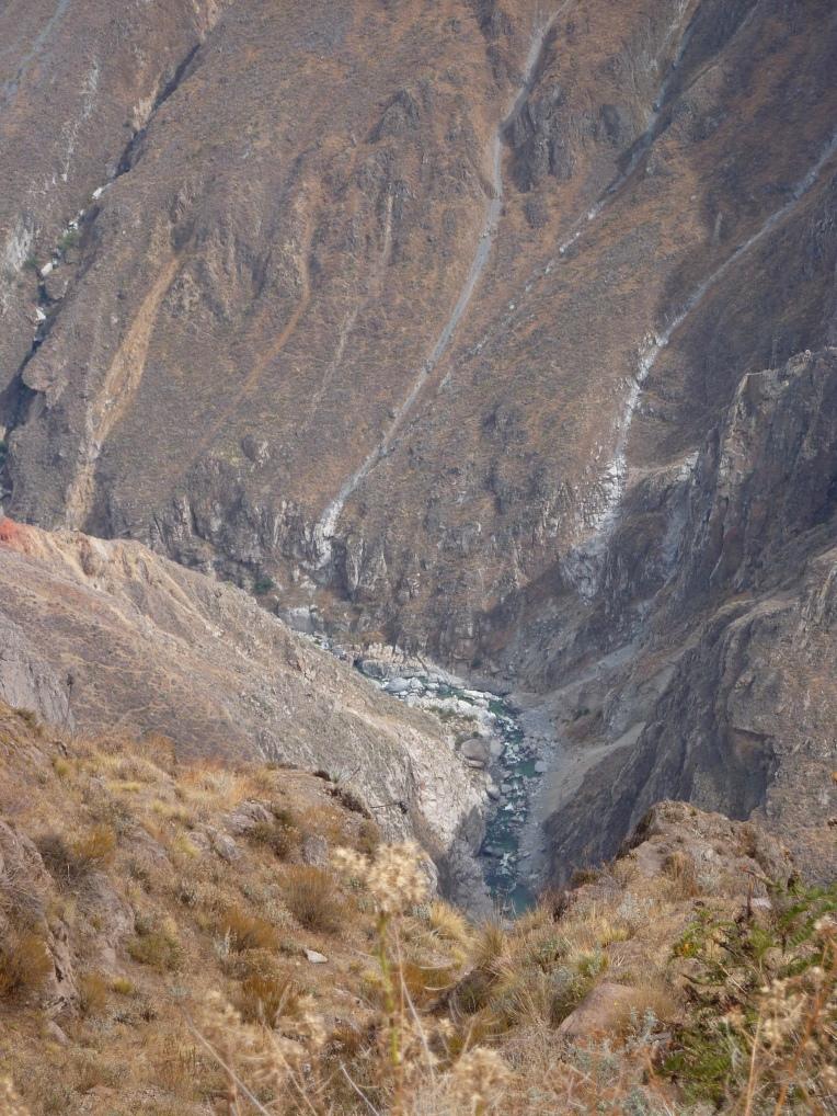 river in Colca Canyon // A Slice of Peru
