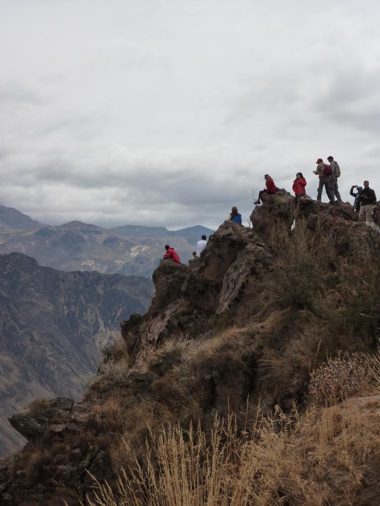 people watching // A Slice of Peru
