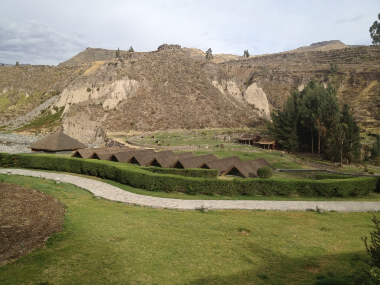 grounds of the Colca Lodge // A Slice of Peru