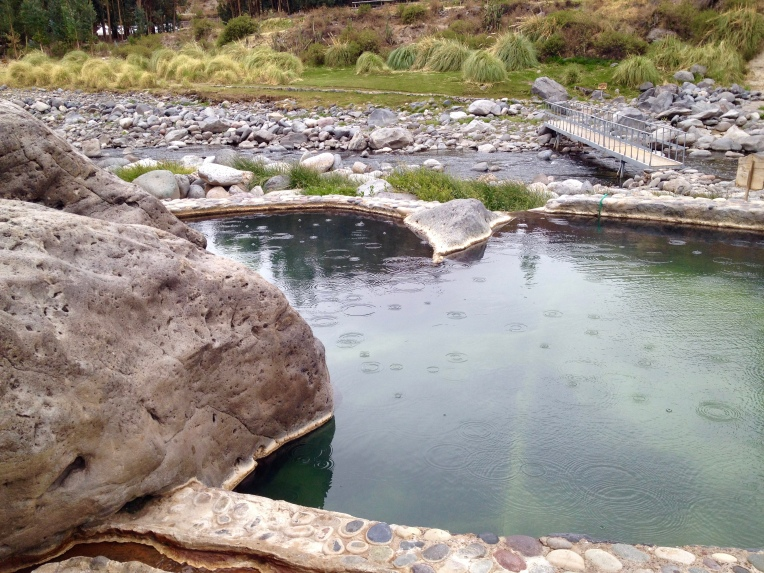 hot pool - Colca Lodge // A Slice of Peru