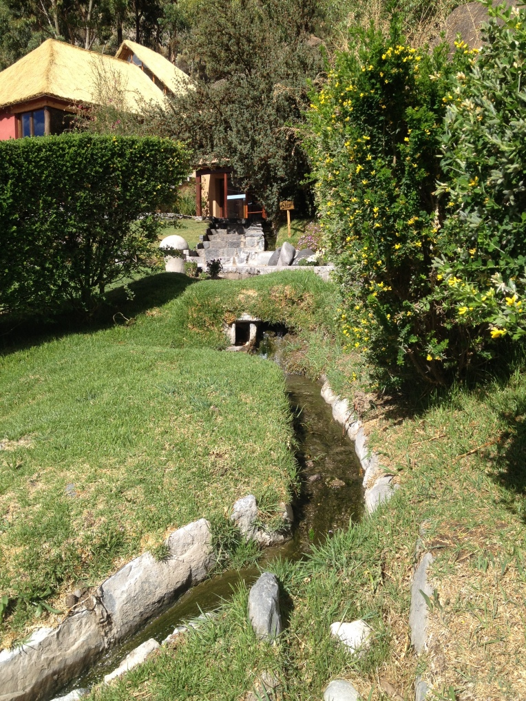 hot water streams - Colca Lodge // A Slice of Peru