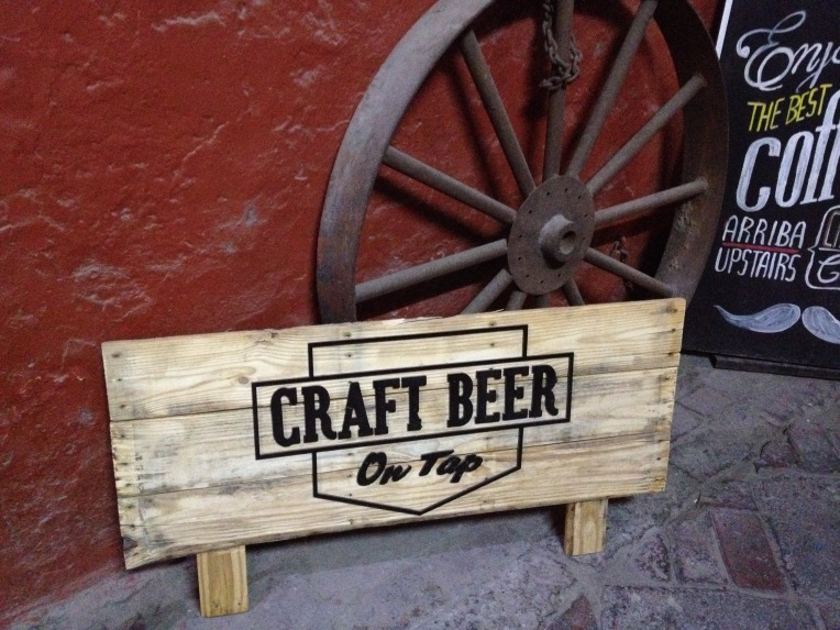 Craft beer at Chaqchao // A Slice of Peru