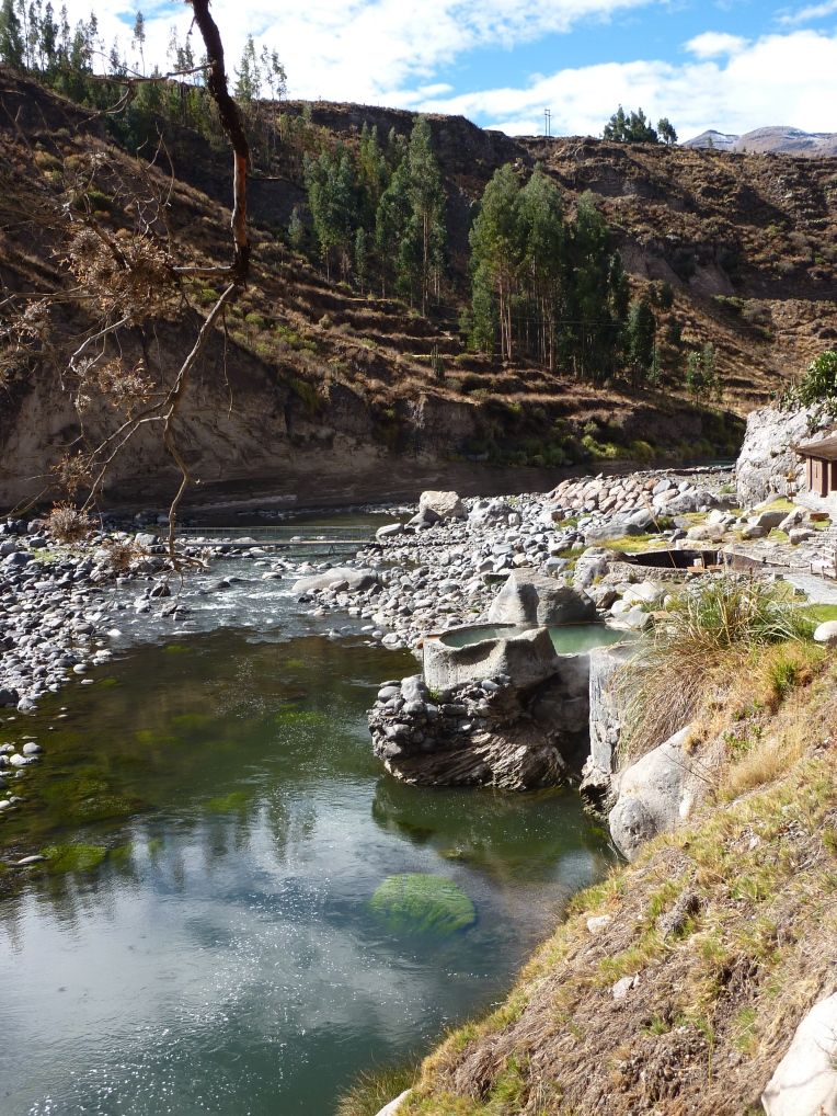 hot pools - Colca Lodge // A Slice of Peru