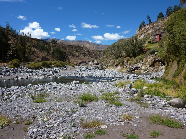 riverbank - Colca Lodge // A Slice of Peru