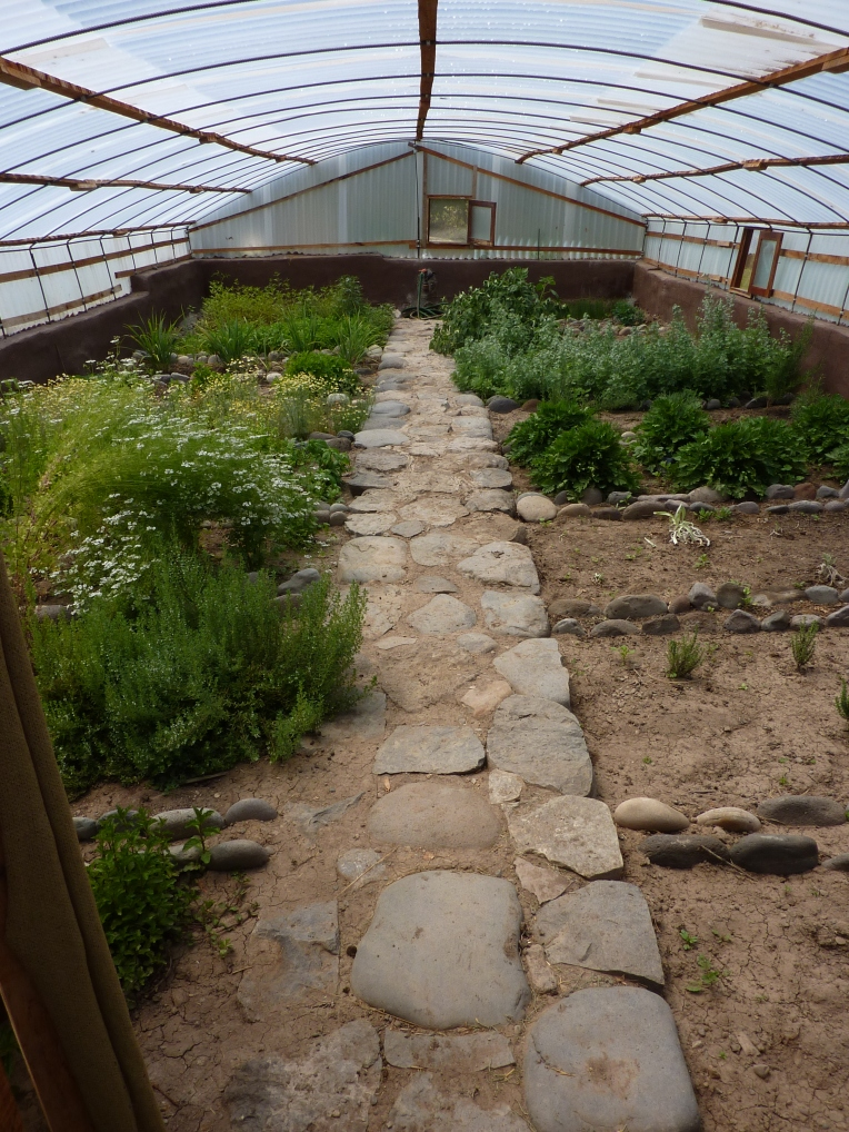 herb greenhouse - Colca Lodge // A Slice of Peru