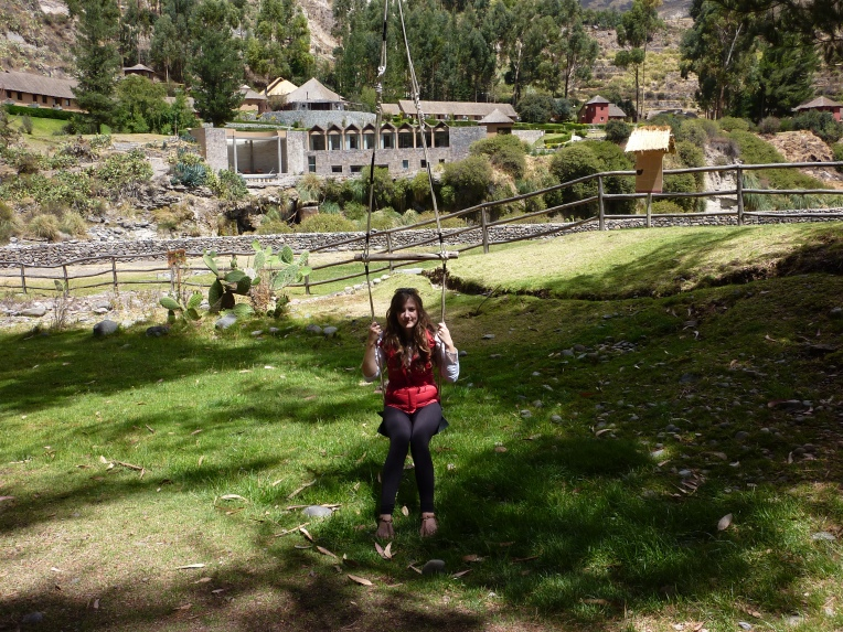 swing at Colca Lodge // A Slice of Peru