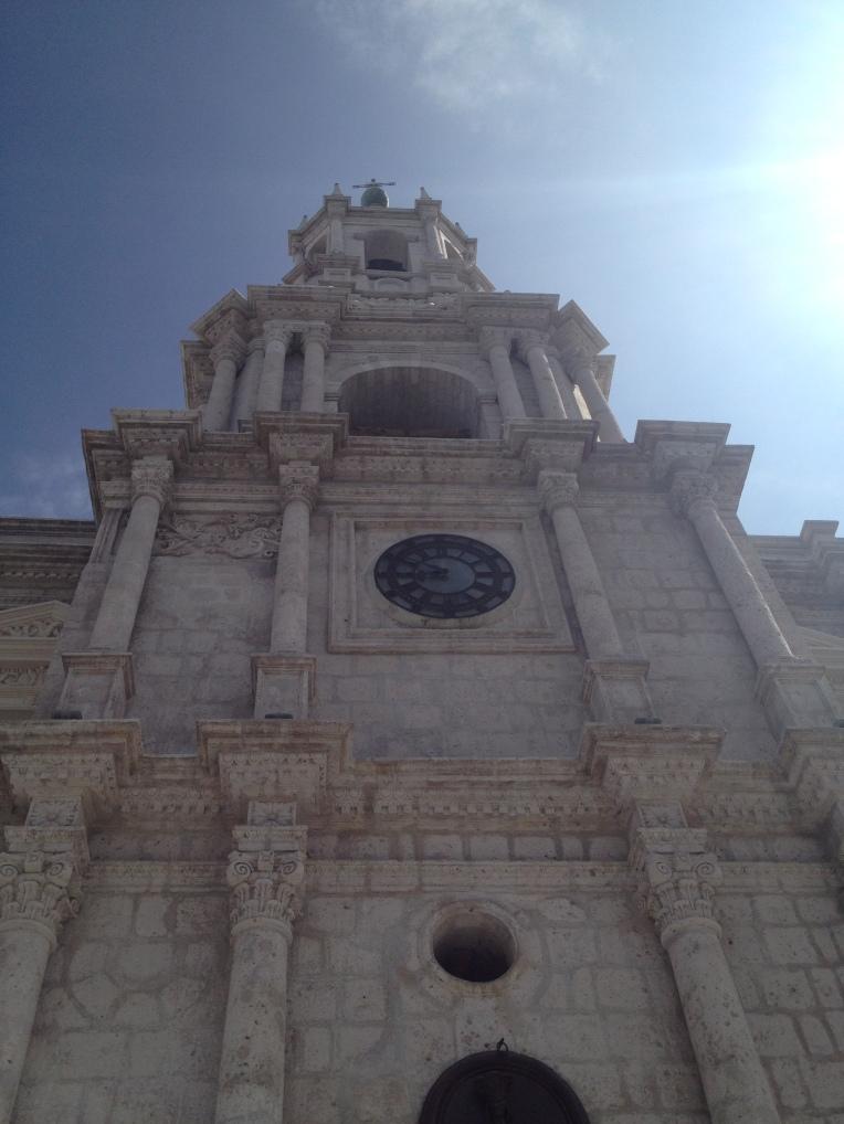 basilica Arequipa // A Slice of Peru