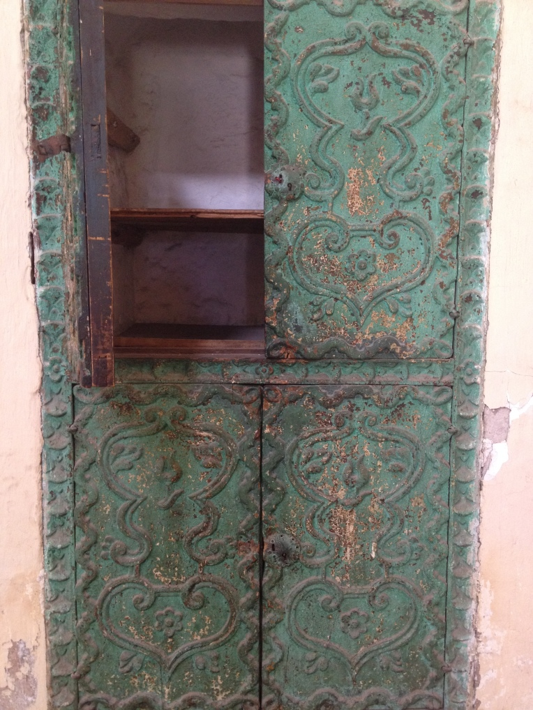 beautiful cupboard, Santa Catalina Monastery, Arequipa // A Slice of Peru