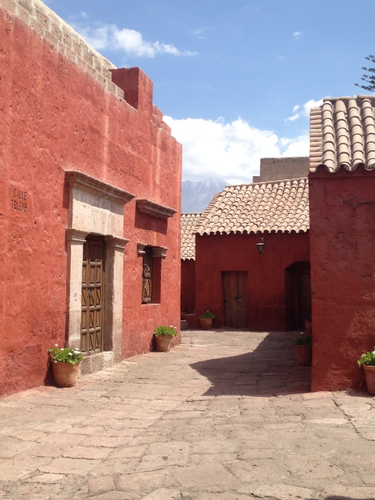 streets within the monastery, Santa Catalina Monastery, Arequipa // A Slice of Peru