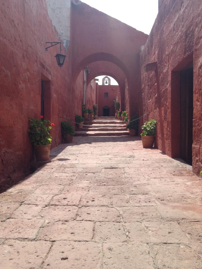 pathway, Santa Catalina Monastery, Arequipa // A Slice of Peru