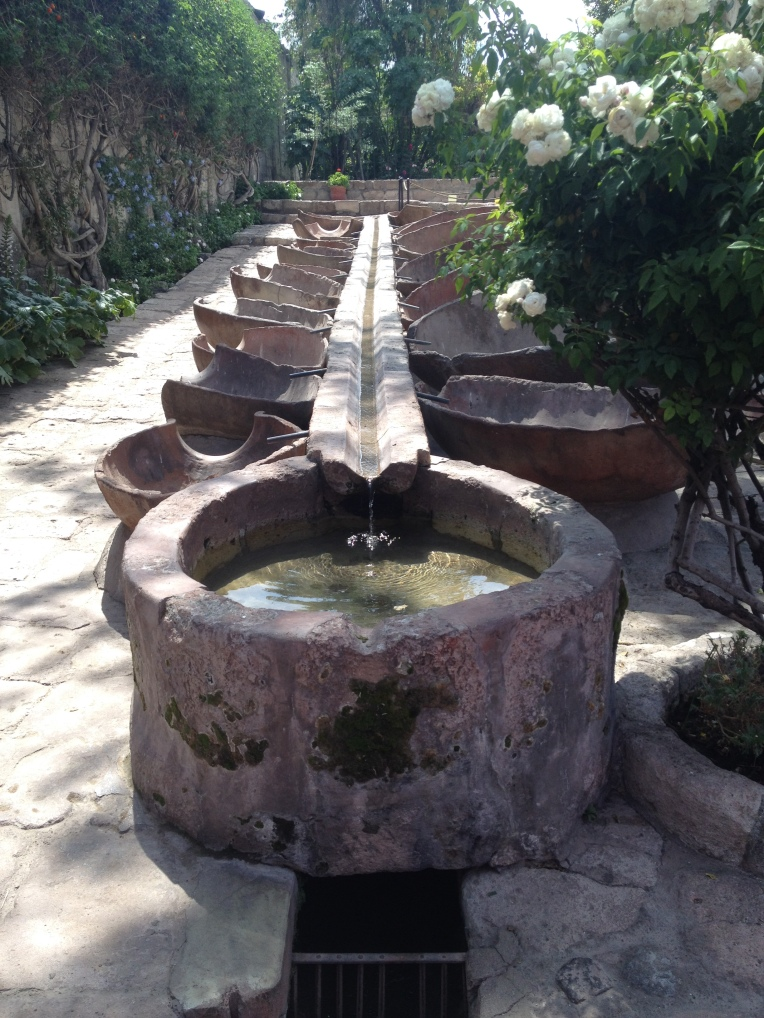 washing system, Santa Catalina Monastery, Arequipa // A Slice of Peru