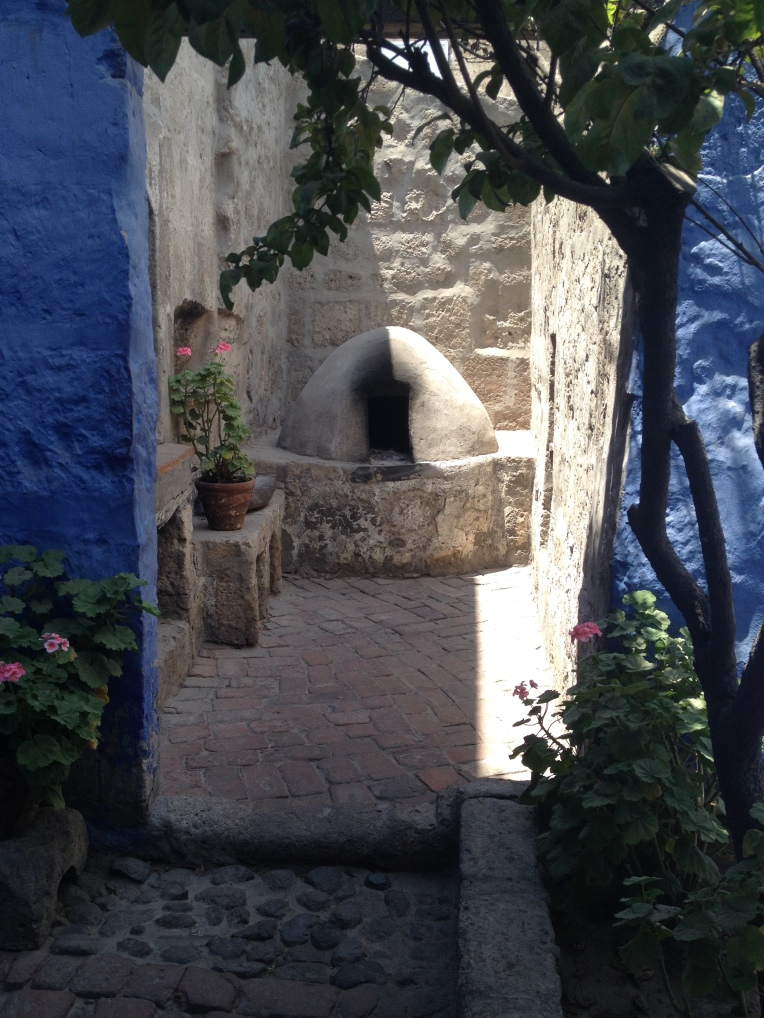 kitchen area, Santa Catalina Monastery, Arequipa // A Slice of Peru