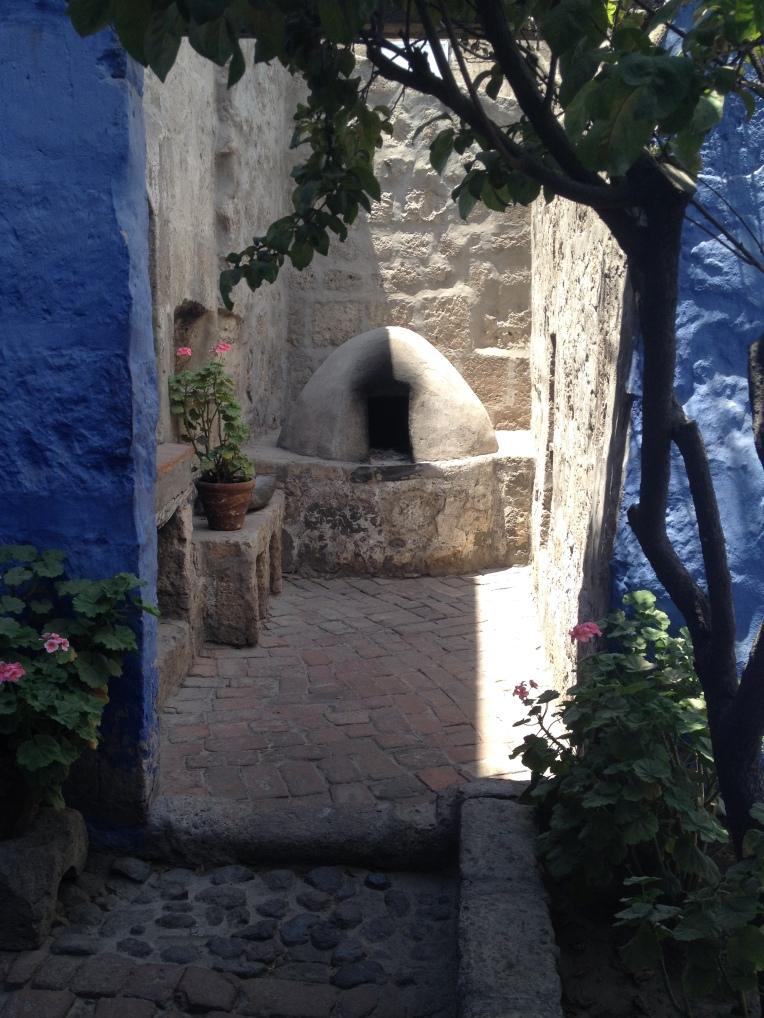 kitchen area, Santa Catalina Monastery, Arequipa // A Slice of Peru
