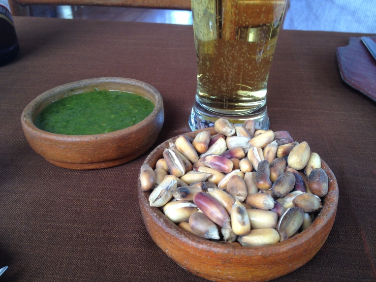 beer and canchita, La Nueva Palomino // A Slice of Peru