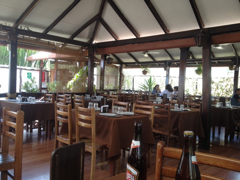 Nueva Palomino restaurant // A Slice of Peru