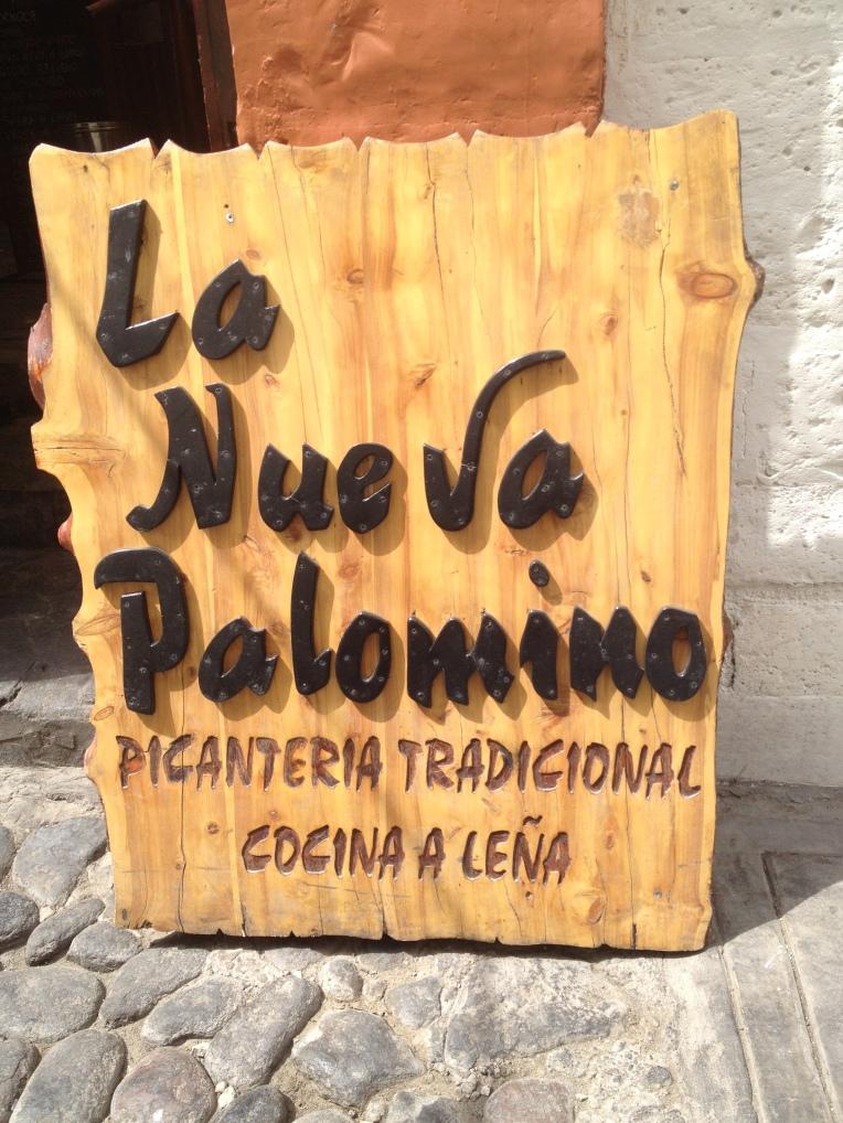 La Nueva Palomino // A Slice of Peru