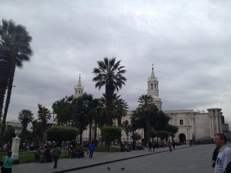 main square, Arequipa // A Slice of Peru
