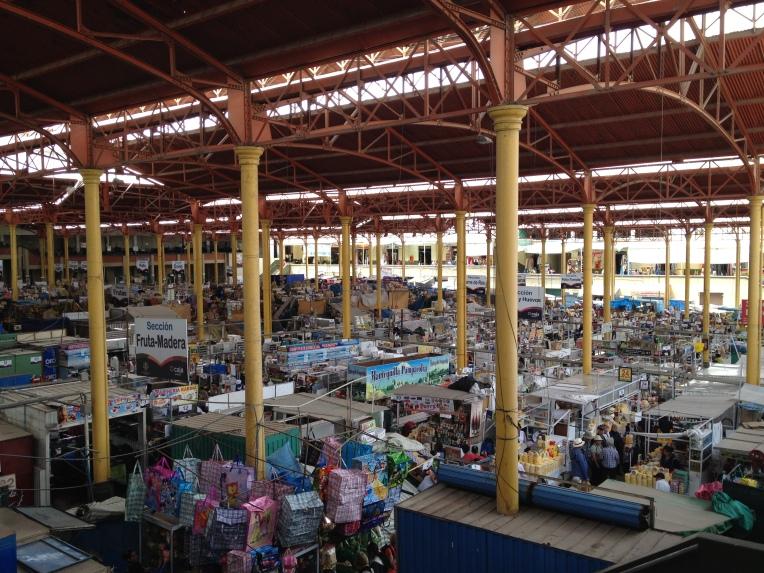 Mercado San Camilo, Arequipa // A Slice of Peru