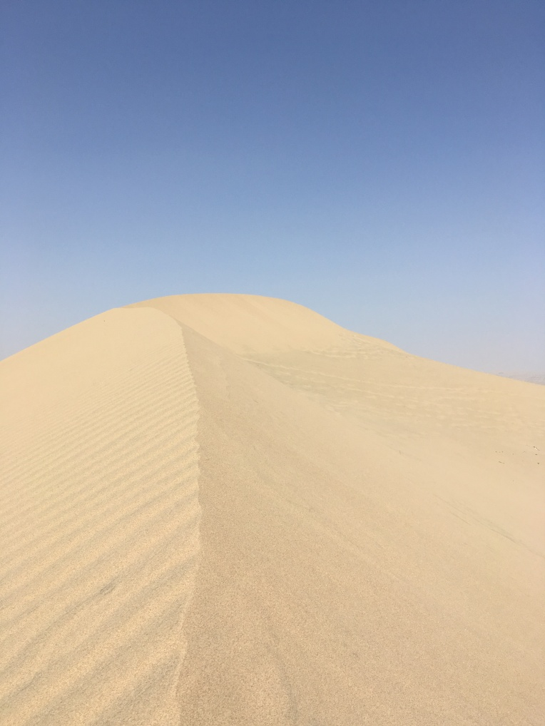 sand dune, Las Dunas // A Slice of Peru