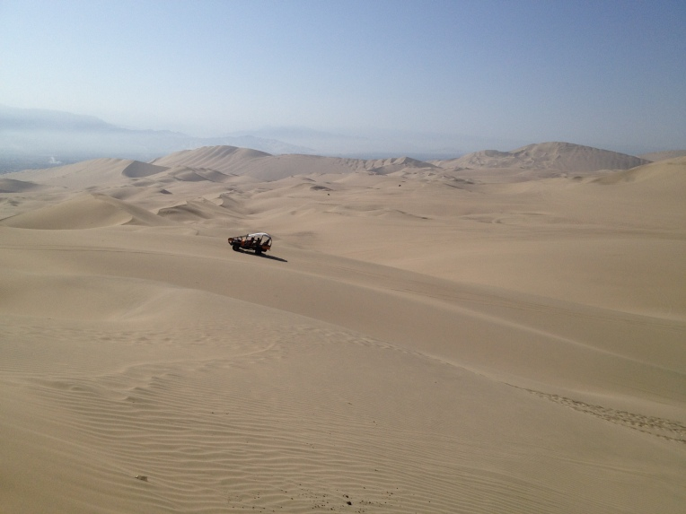 sand dunes, Huacachina // A Slice of Peru