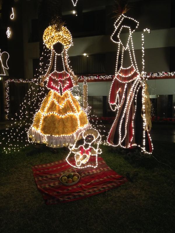 Chacarilla lights, Surco, Lima // A Slice of Peru
