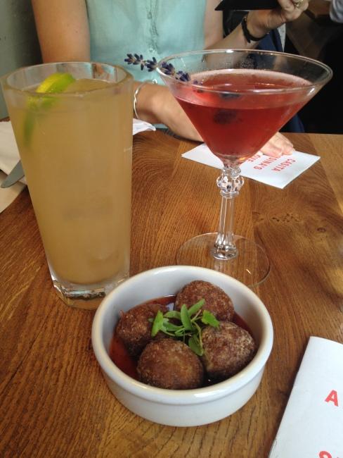 cocktails and croquetas, Casita Andina // A Slice of Peru