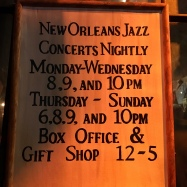 Preservation Hall, New Orleans // The Little Edition