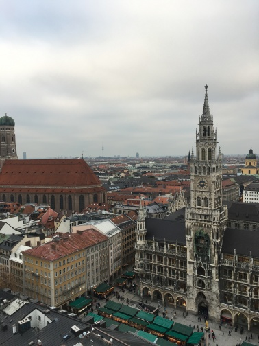 view of Marienplatz, Munich // The Little Edition