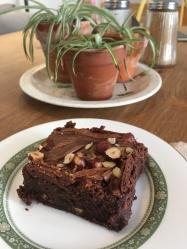Hazelnut Brownie, Linton Kitchen, Cambridgeshire // The Little Edition